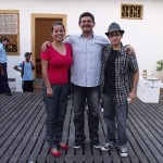 Fernanda, Roberto e Pitter