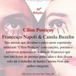 Apresentação da obra: Cílios Postiços  Autor: Francesco Napoli