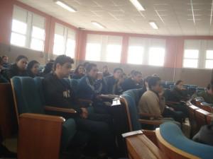 Público presente na reunião.