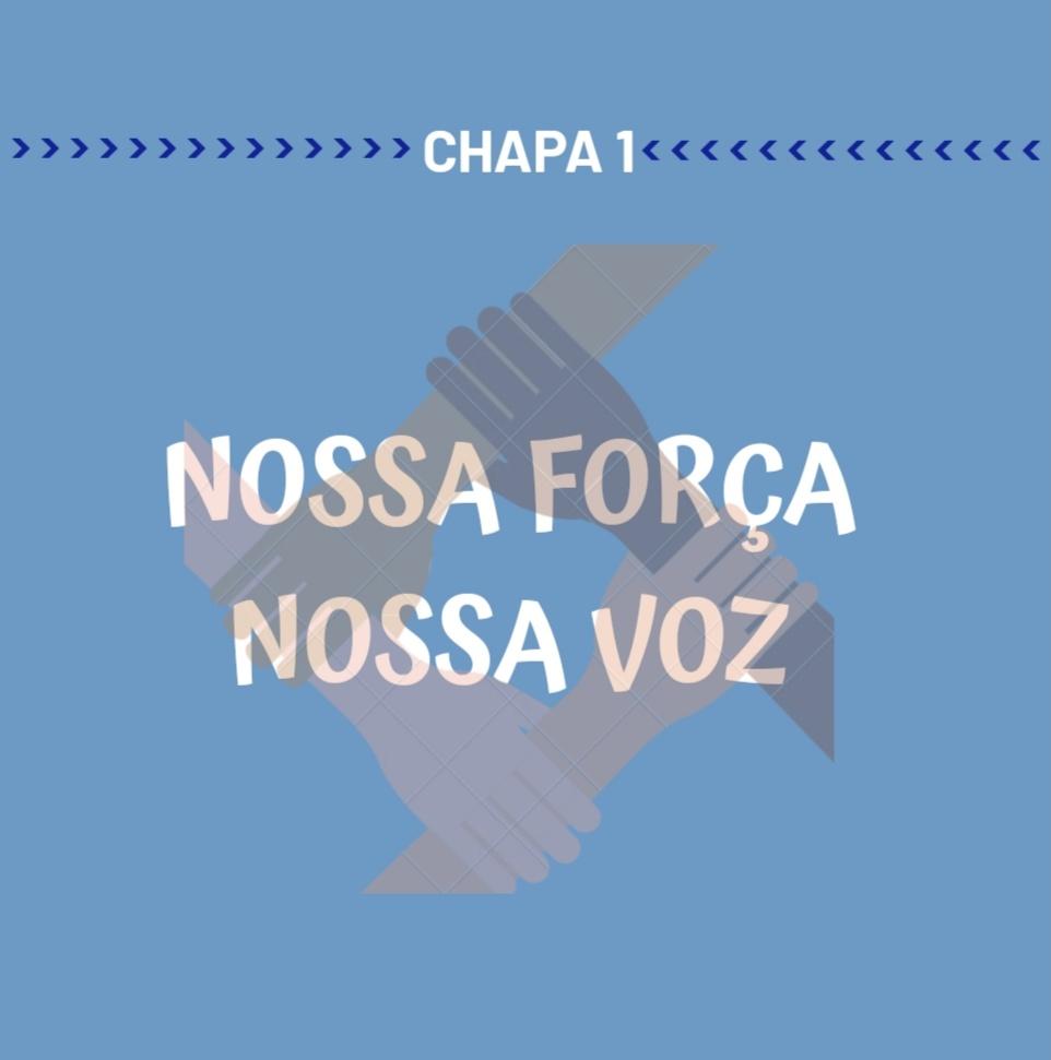"""Membros Chapa """"Nossa Força, Nossa Voz"""""""