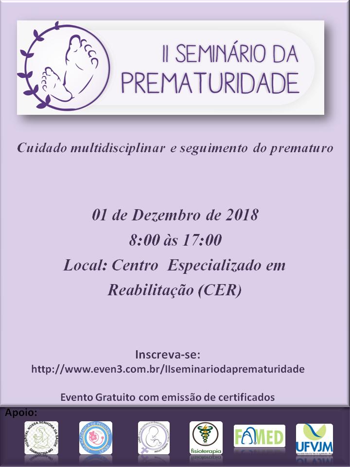 II seminario da prematuridade