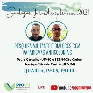 Live maio Carlos e Paulo.