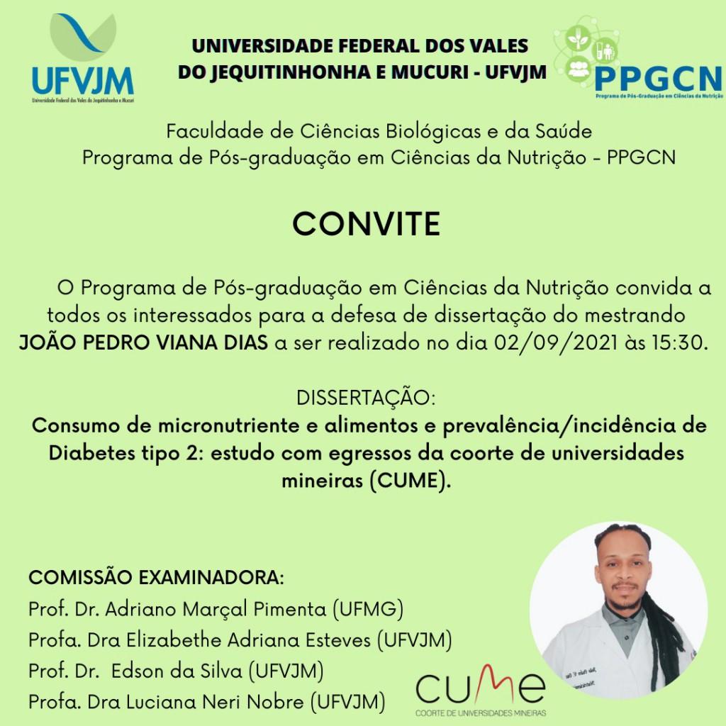 Defesa PPGCN João