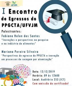 I-EG-PPGCTA - graduação