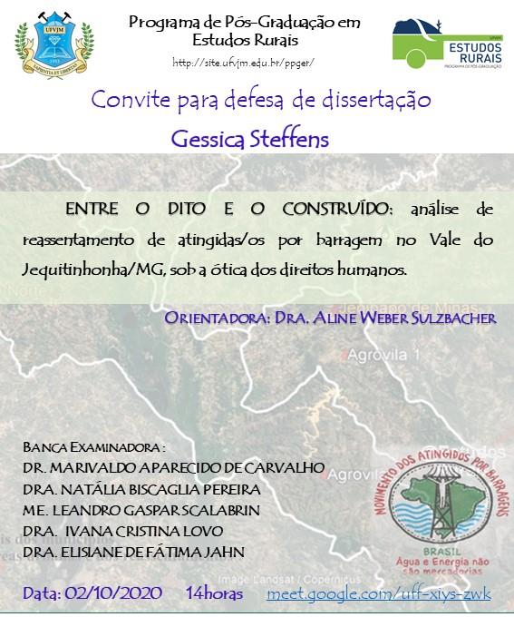 3 - Defesa Gessica Steffens (INSTAGRAM)