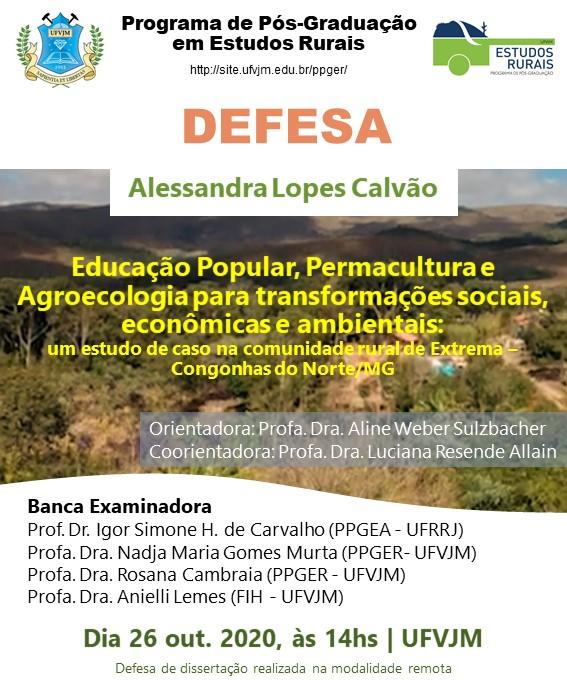 6 - Convite de Defesa Alessandra