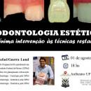 """Prof. Dr. Rafael Guerra Lund (UFPel) ministra palestra intitulada """"Odontologia estética: da mínima intervenção às técnicas restauradoras"""""""