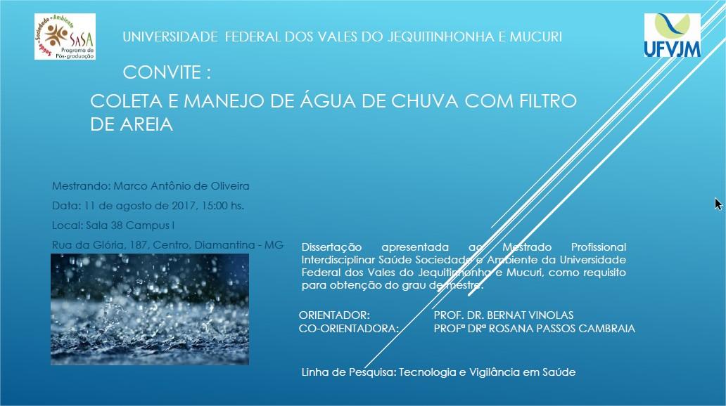 Convite Marquinhos
