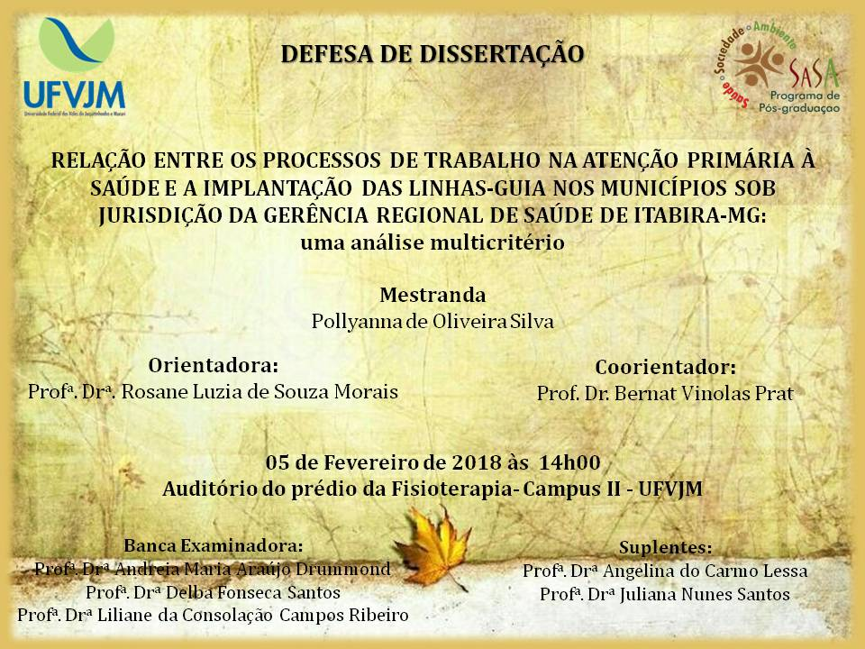 Convite dissertação